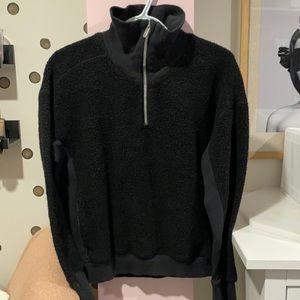 Lululemon Sherpa Half Zip Sweatshirt